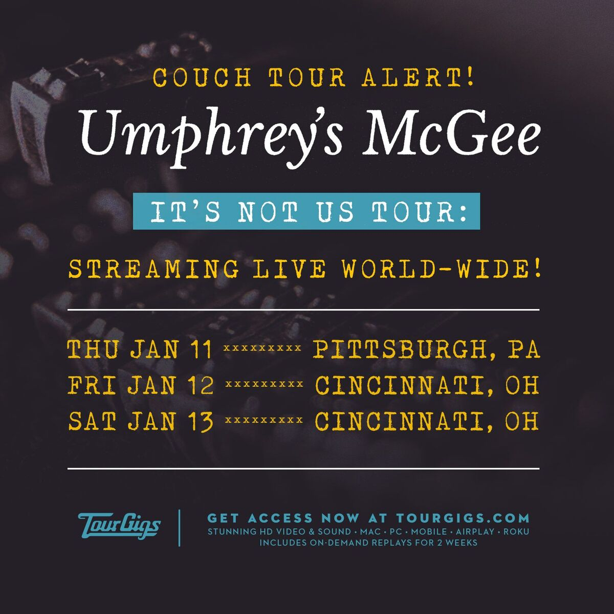 Umphrey S Mcgee Couch Tour