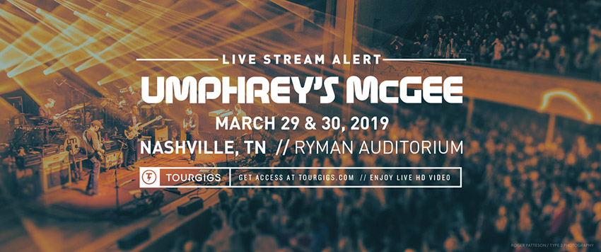 Couch Tour from The Ryman - Umphrey's McGee